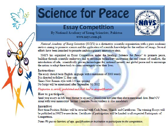national academy of young scientists nays nays essay national